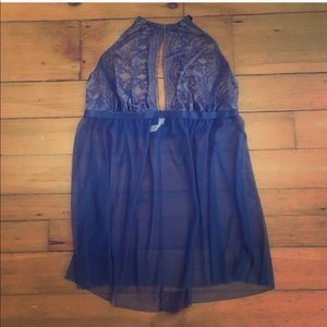 💟 Preowned • Cacique Size 18/20 • Halter Chamise
